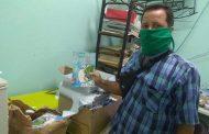 Editorial artemiseña realiza donación a centro de aislamiento