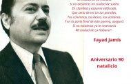Conciben jornada de homenaje por los 90 años de Fayad Jamís