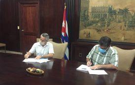 Firman convenio Instituto Cubano del Libro y Biblioteca Nacional José Martí